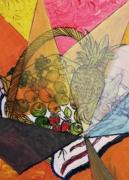 tableau fruits : Panier de fruits