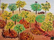 tableau paysages : Forêt pleine de vie