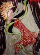 tableau personnages : Danseuse suspendue