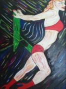 tableau personnages : Danseuse de cabaret