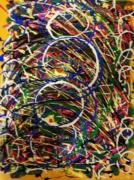 tableau : nébuleuse de couleurs