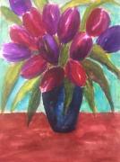 tableau : tulipes
