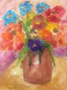 tableau fleurs : tulipes