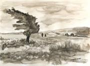 tableau paysages ndeg18 : Arbre sous le Vent