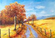 tableau paysages ndeg16 : Chemin de Campagne