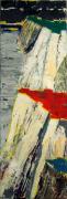 tableau paysages paysage falaise mondrian vertical : De bout en bout