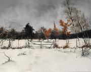 tableau paysages : La barriere