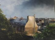 tableau architecture : Montmartre