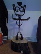 sculpture : welcome