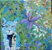 tableau : Léon, le chat Caméléon