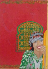 jeune Berbère Marocaine