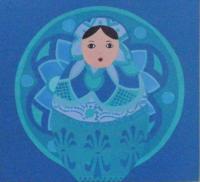 demoiselle bleutée