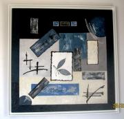 tableau abstrait : AZURE