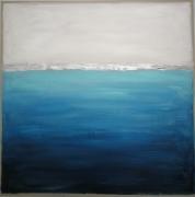 tableau abstrait tableau abstrait bleu : Deep blue