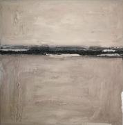 tableau abstrait tableau abstrait blanc : Brume
