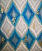 tableau abstrait tableau abstrait bleu : Boreal