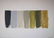 tableau abstrait abstract green canvas tableau abstrait vert : Green symphony
