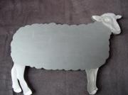 artisanat dart animaux ardoise craie mouton : ardoise mouton
