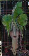 tableau personnages portrait poupee cheveux femme : Why not