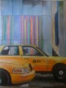 tableau : Taxis newyorkais