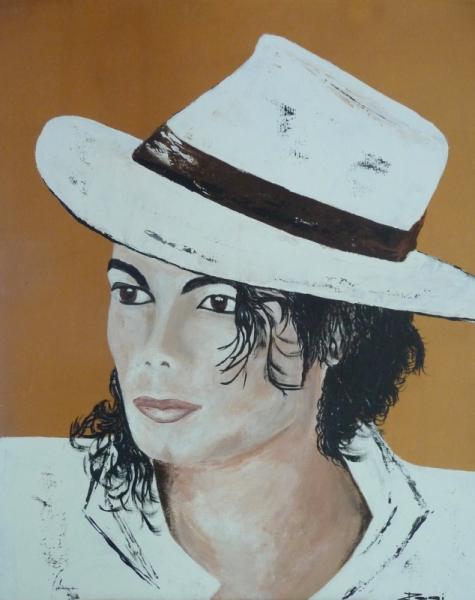 TABLEAU PEINTURE  - Michael Jackson