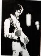 """tableau personnages jimi hendrix guitariste chanteur musique : SHOW-MAN  """" JIMI HENDRIX """""""