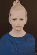 tableau autres jeune fille portrait peinture tableau : PORTRAIT