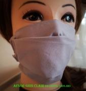 art textile mode autres masque tissu coton bio lavable : masque modèle AFNOR 100% Coton lavable et réutilisable