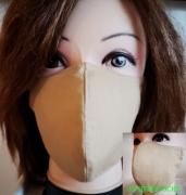 textile clothing autres masque tissu reutilisable coton adulte : masque 3D 100% Coton lavable et réutilisable