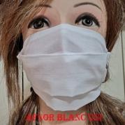 art textile mode autres masque couleur uni tissu protection : masque modèle AFNOR 100% Coton lavable et réutilisable
