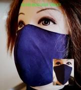 art textile mode marine masque lavable tissu coton homme femme : masque 3D 100% Coton lavable et réutilisable