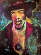 tableau : Jimi Hendrix