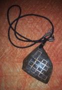 bijoux autres bois de coco peinture entrelacs : entrelacs
