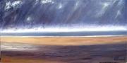 tableau marine plage st laurent marine normandie : Plage Normande st laurent