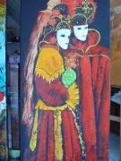 tableau personnages carnaval : VENISE