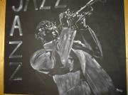 tableau personnages jazz : musique