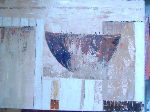 TABLEAU PEINTURE Abstrait Acrylique  - abstrait