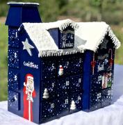 artisanat dart personnages avent calendar calendrier avent boi calendrier avent pei calendar of advent : REF/103*Christmas*Calendrier de l'avent*Bois *Peint à la main*To