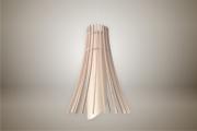 deco design fleurs lampe luminaire bois suspension : Luminaires ; Lampe eco design en bois, MEDUSE suspension