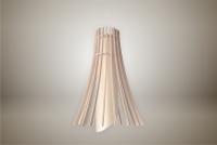 Luminaires ; Lampe eco design en bois, MEDUSE suspension