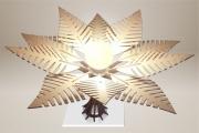 deco design fleurs lampe luminaire design bois : Luminaires ; Lampe eco design en bois, FOUGERE
