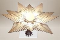 Luminaires ; Lampe eco design en bois, FOUGERE