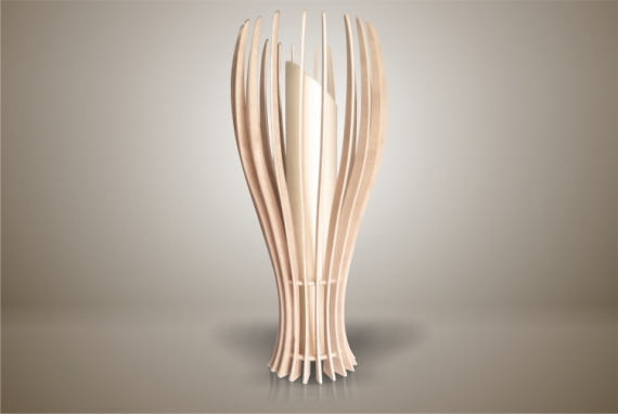 DéCO, DESIGN lampe luminaire design bois Fruits  - Luminaires ; Lampe eco design en bois, Petite FIGUE à poser