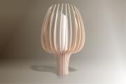 deco design fleurs design lampe bois luminaire : Luminaires ; Lampe eco design en bois, TULIPE petite tige