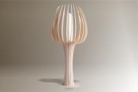 Luminaires ; Lampe eco design en bois, TULIPE grande tige