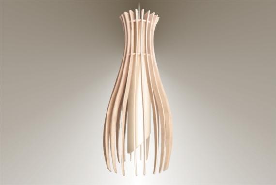 DéCO, DESIGN lampe luminaire bois suspension Fruits  - Luminaires ; Lampe eco design en bois, petite FIGUE suspension