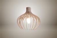 Luminaires ; Lampe eco design en bois, BLEUET suspension
