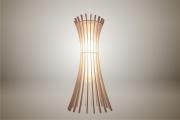 deco design fleurs lampe luminaire design bois : Luminaires ; Lampe eco design en bois, EPIS suspension