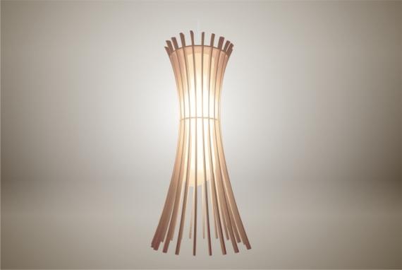 DéCO, DESIGN lampe luminaire design bois Fleurs  - Luminaires ; Lampe eco design en bois, EPIS suspension