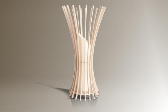 DéCO, DESIGN lampe design luminaire bois Fleurs  - Luminaires ; Lampe eco design en bois, EPIS